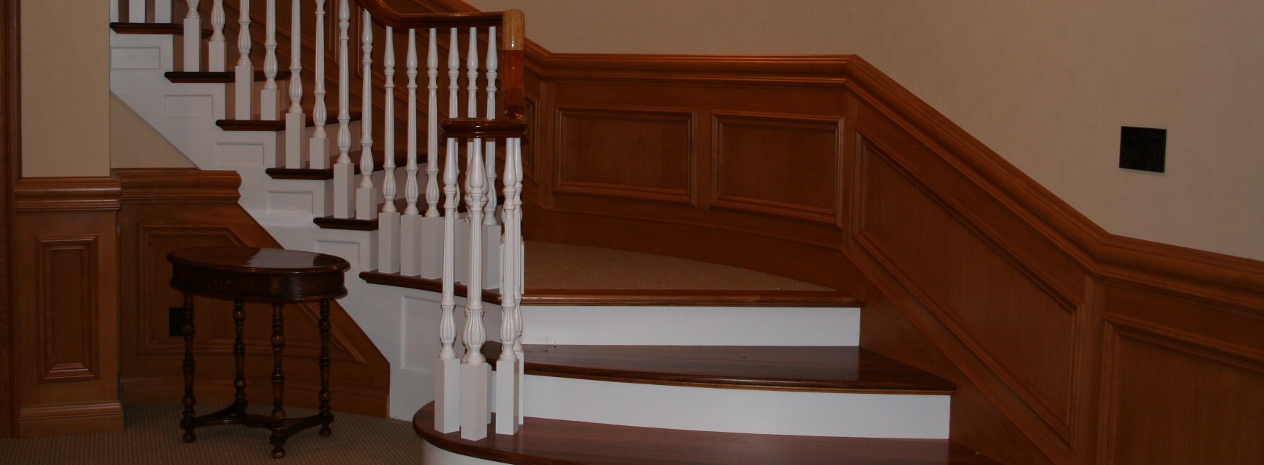 Quaker Millwork Custom Staircases and Railings